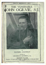 Image of St. John Ogilvie from a 1915 book.